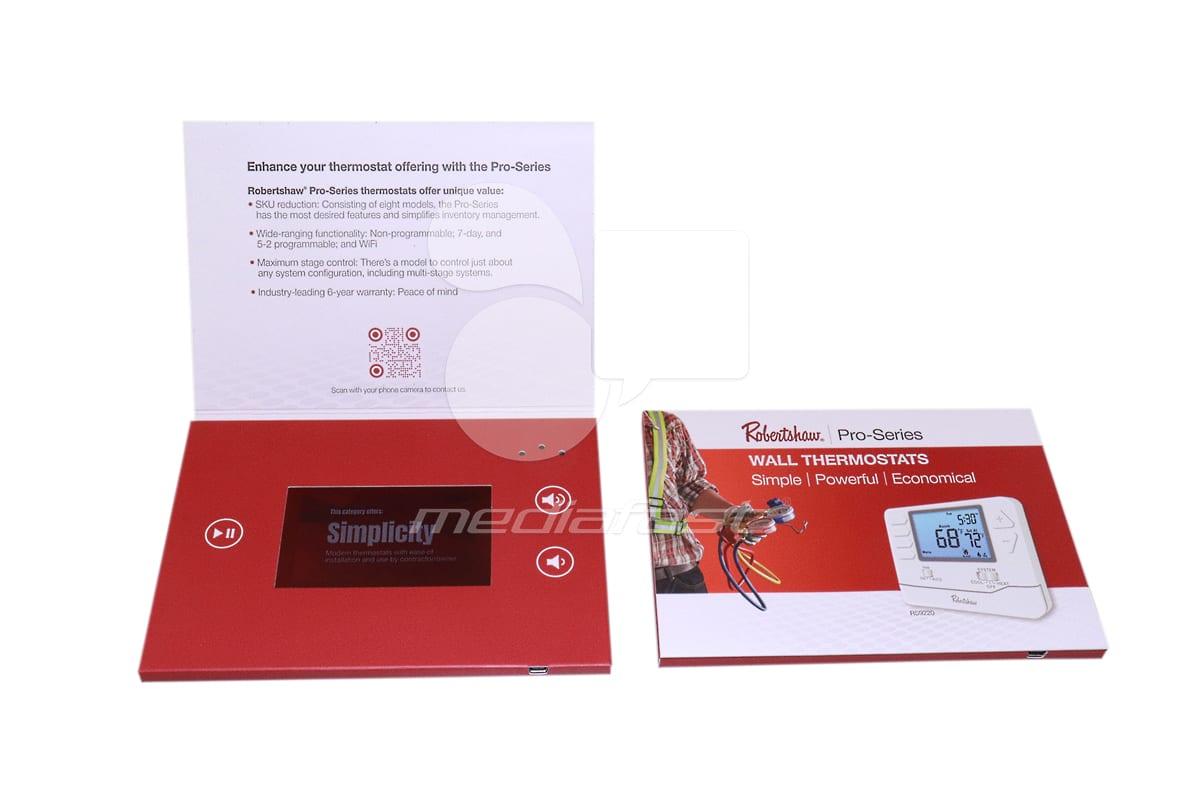 Robertshaw - Pro Series Video Brochure: 5 x 7 - Screen: 4