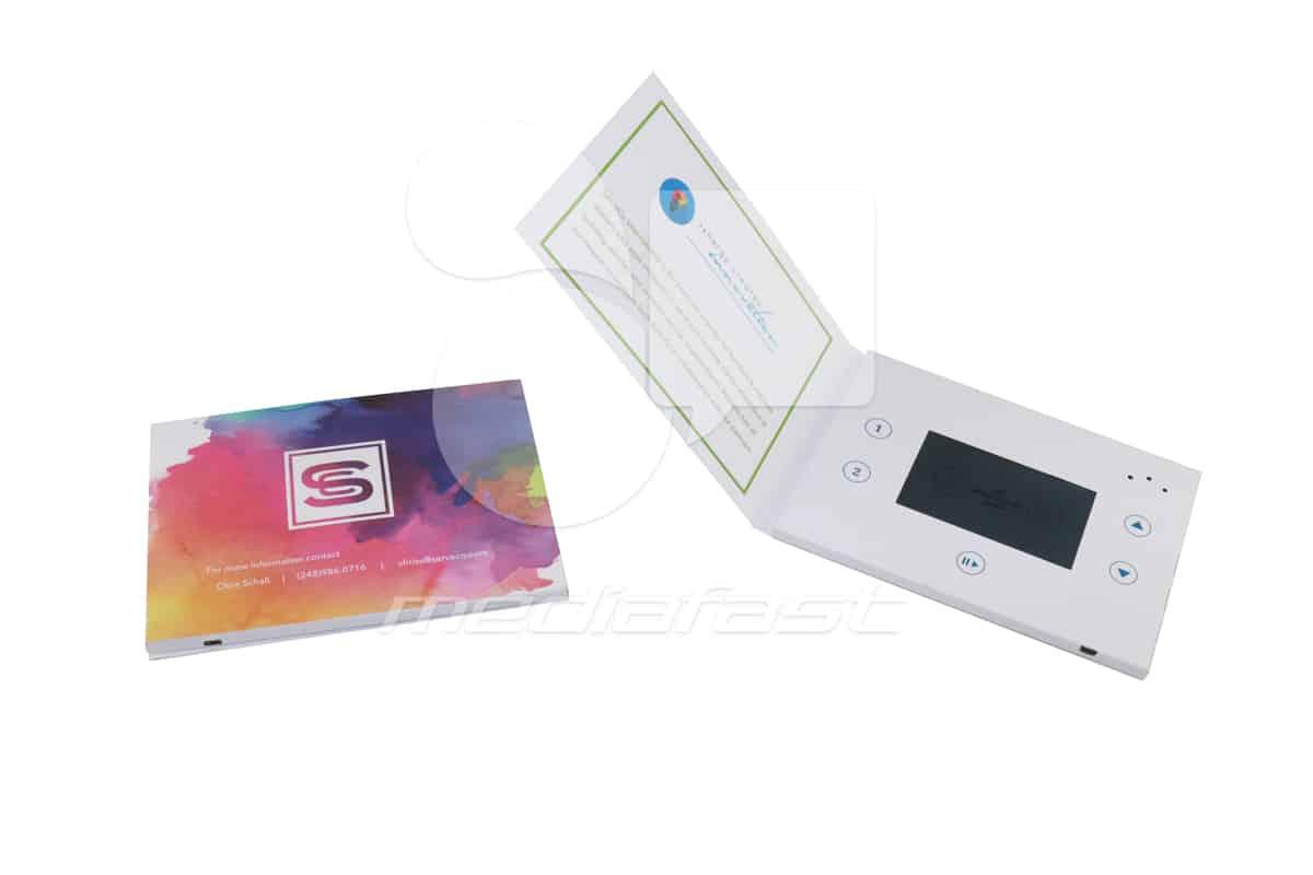 "S Synergy Creates innovation S Video Brochure 5 X 7- Screen: 4"""