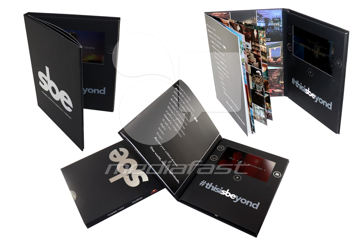 "SBE Video Brochure 9 X 12- Screen: 7"""
