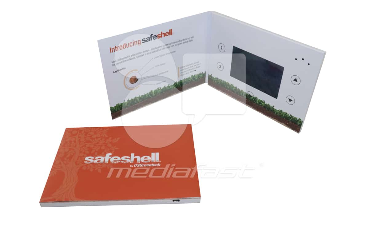 "Saeshell Video Brochure 5 X 7- Screen: 4"""