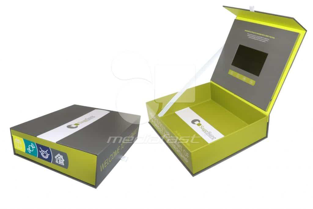 "SageSure Insurance Managers Video Box 13.5 x 11.5 x 3.5 - Screen: 7"""
