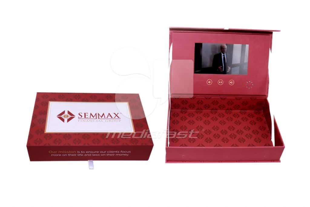 "Semmax Financual Group Video Box 7.5 x 11.5 x 2.39 - Screen 7"""