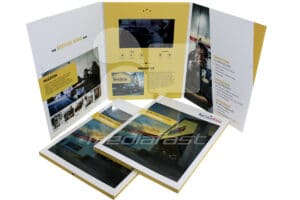"Service King Gatefold Video Brochure 9 X 12- Screen: 7"""