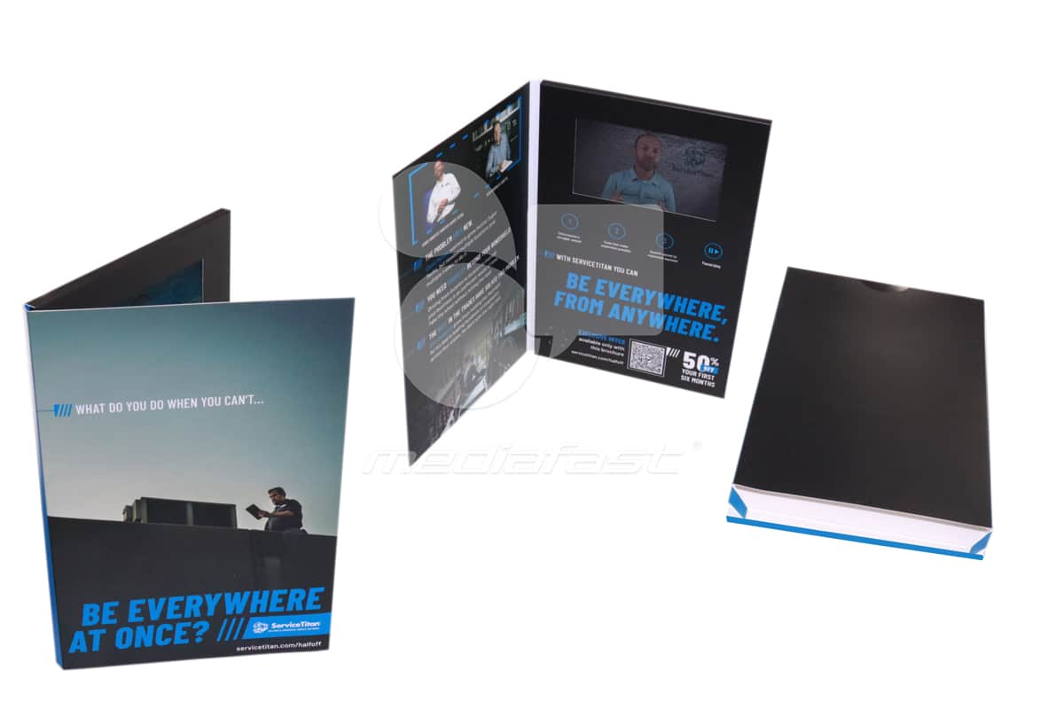 "Service Titan Video Brochure 6.5 x 9.6 - Screen: 5"""