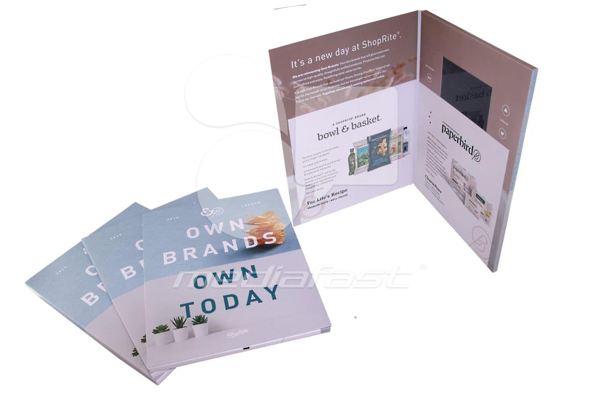 "Shop Rite Video Brochure 9 X 12- Screen: 4"""