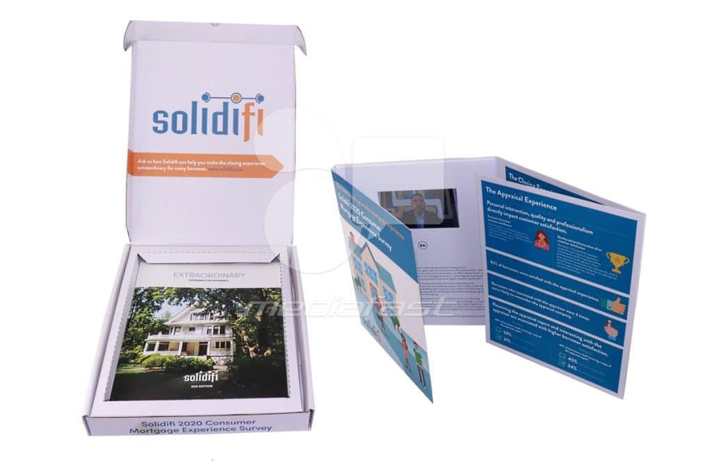 Solidifi Brochure Box 8.54 x 11 x 1.64 - Screen: No Screen