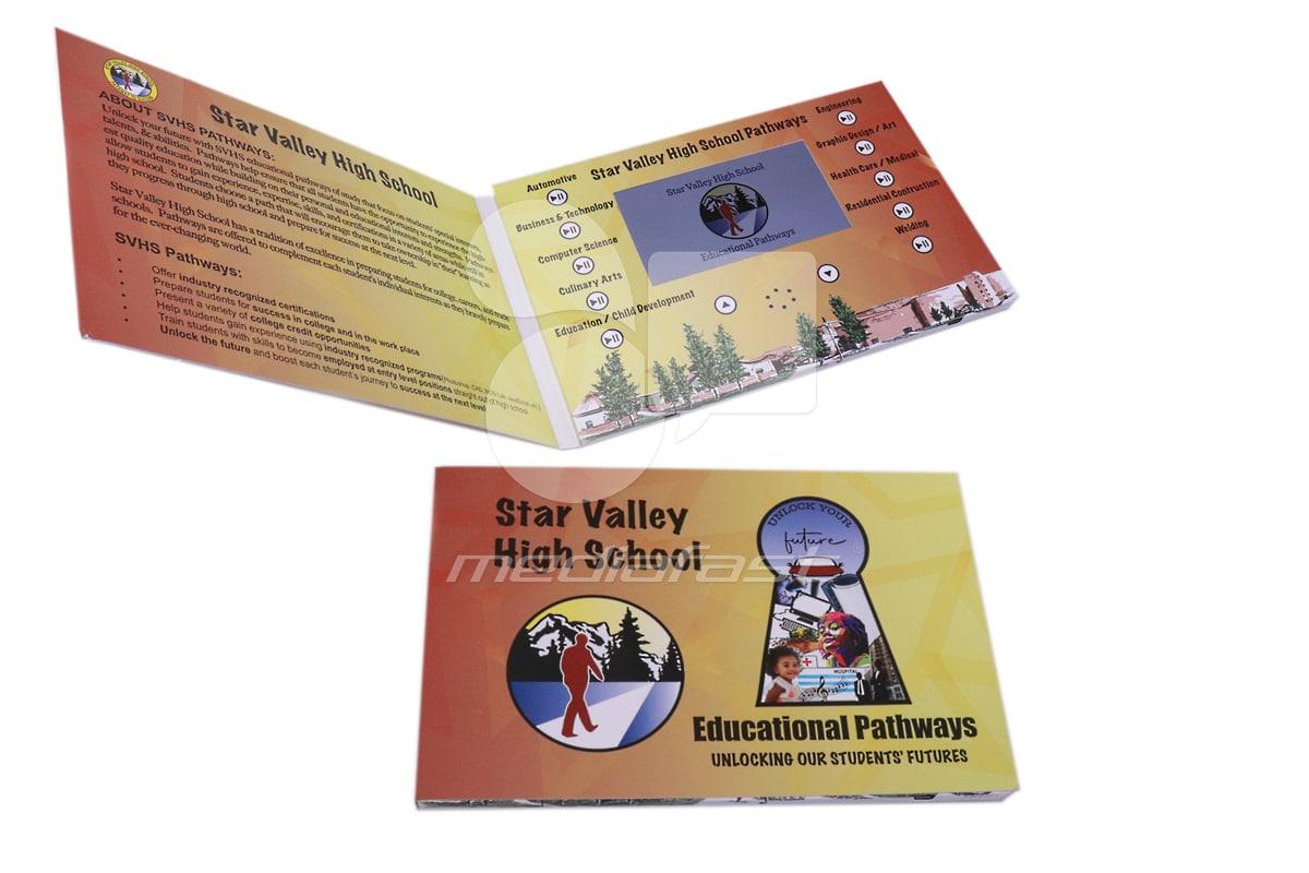 Star Valley High School Video Brochure 6 x 9