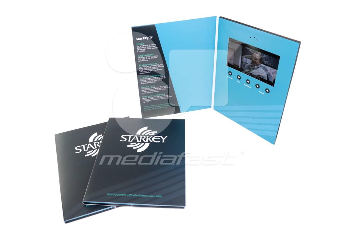 "StarKey Video Brochure 9 X 12- Screen: 7"""