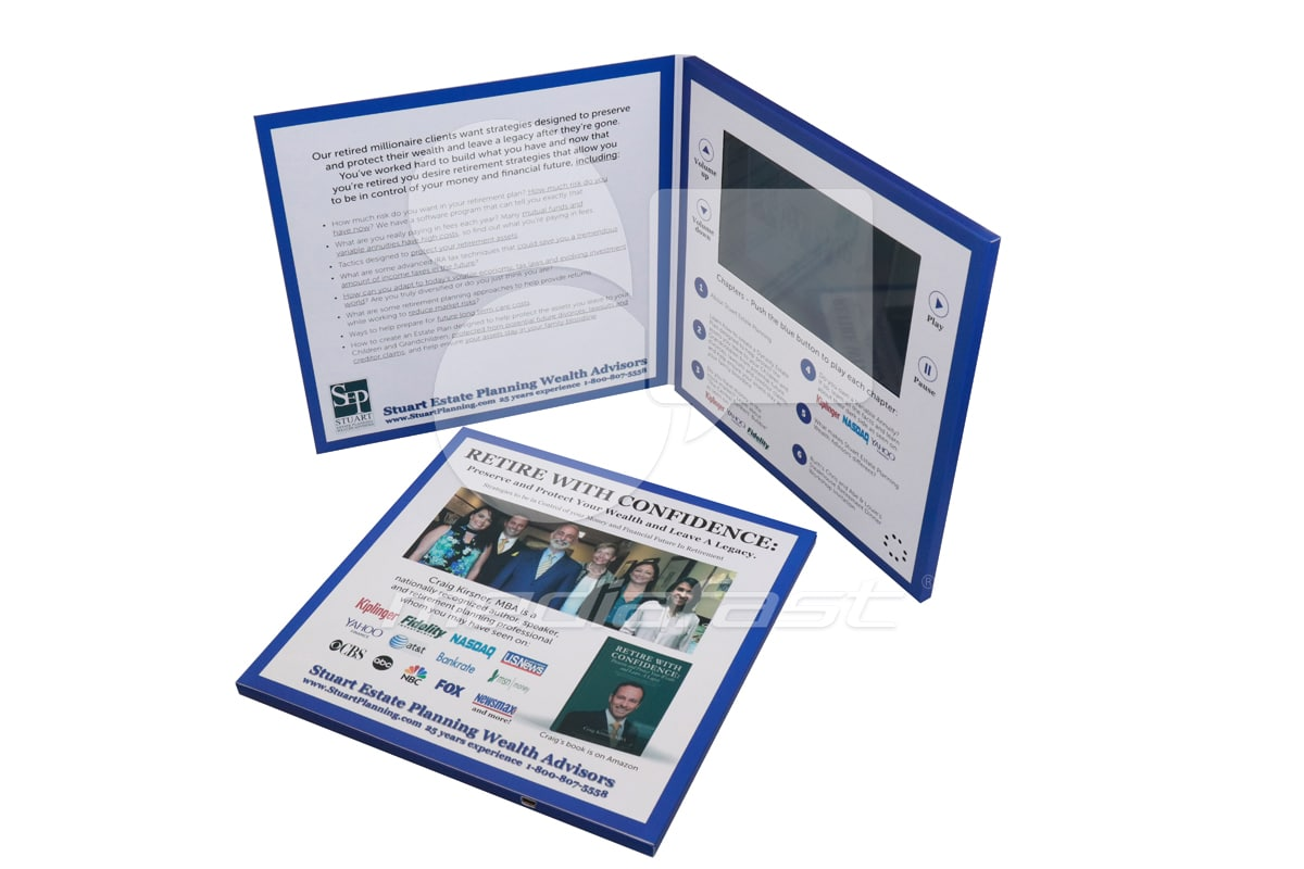 "Stuart Planing Video Brochure 9 X 9- Screen: 7"""