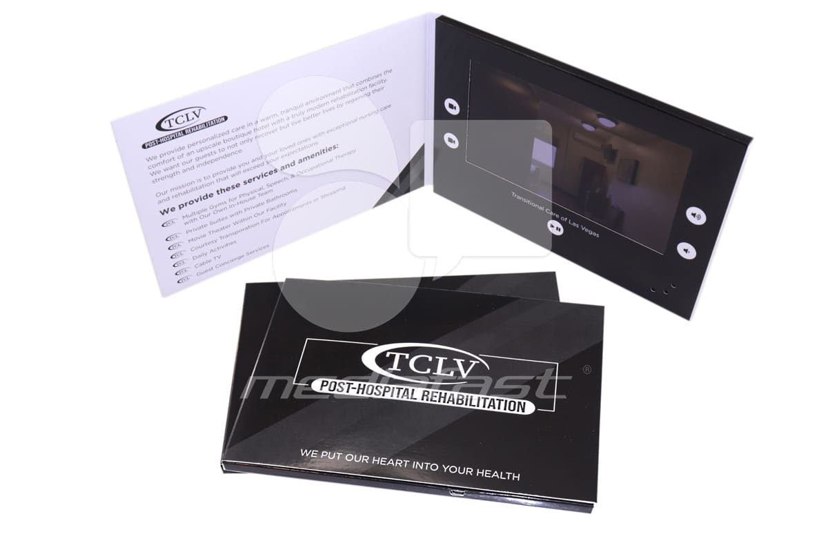 "TCLV Video Brochure 8.3 x 5.8 - Screen: 7"""""