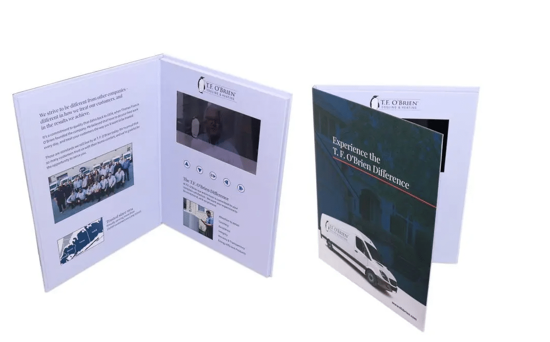 """TFOBrien Video Brochure 9 X 12- Screen: 7"""""""