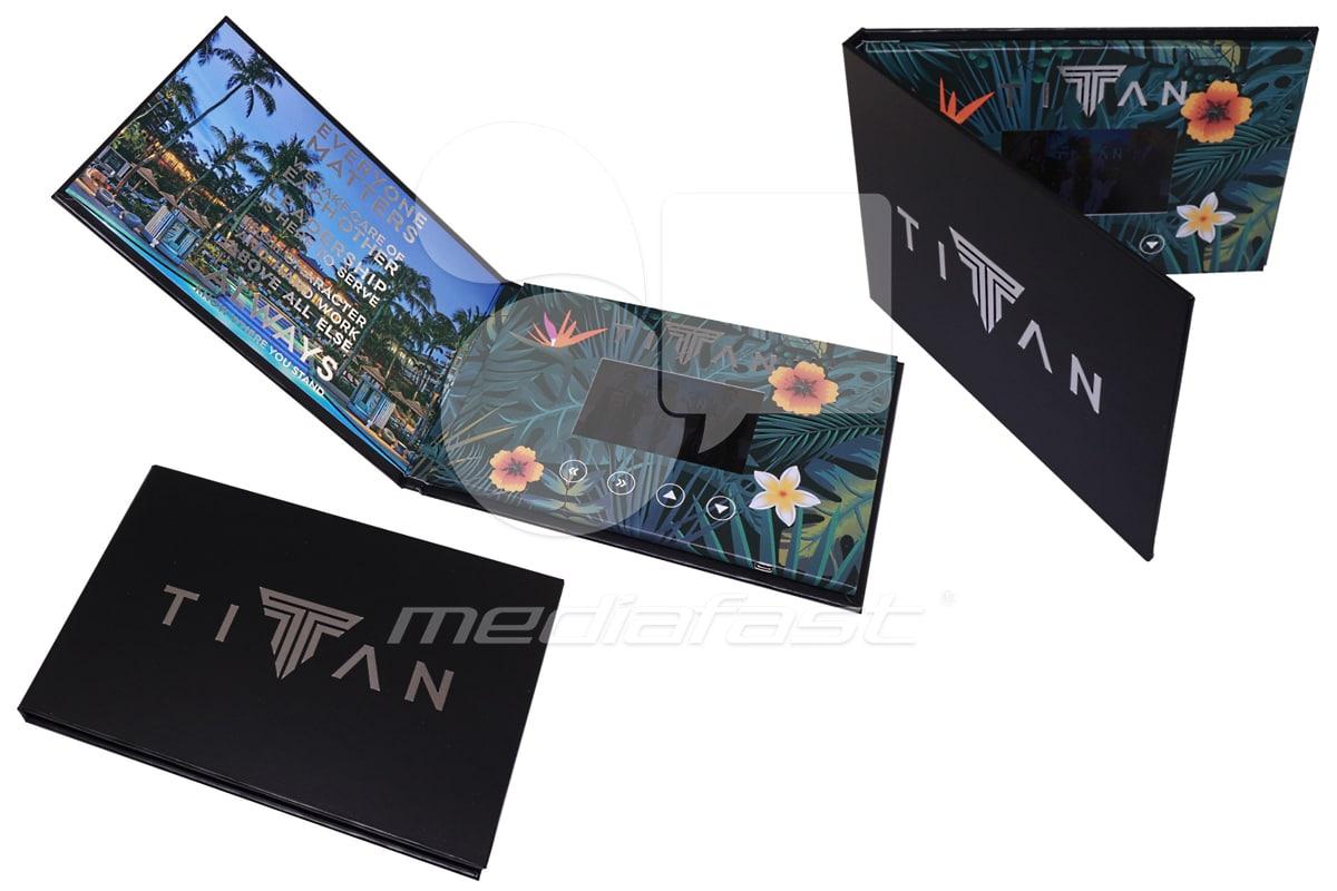 "TITAN Video Brochure 6.5"" x 9.6"" - Screen: 5"""