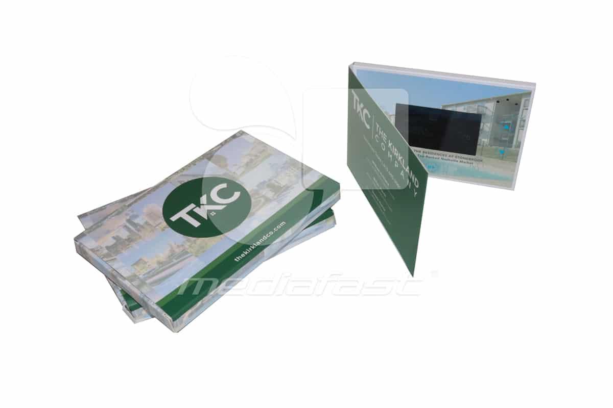 """TKC with mailer Video Brochure 5 x 7 - Screen: 4"""""""