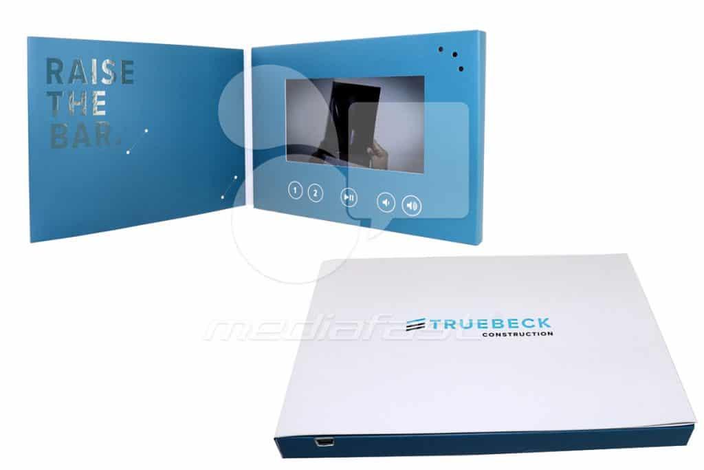"""TRUEBECK Video Brochure 5 x 7 - Screen: 4"""""""