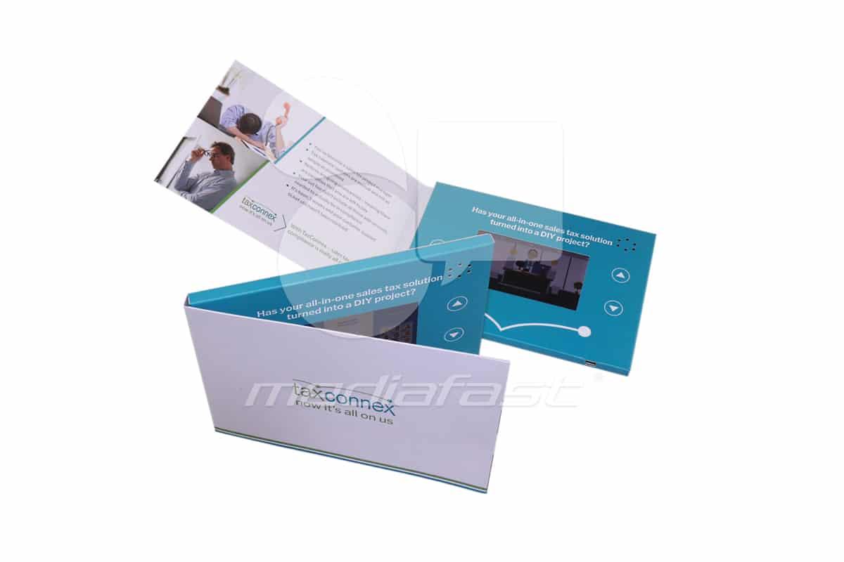 "Taxcoccex Video Brochure 5 X 7- Screen: 4"""