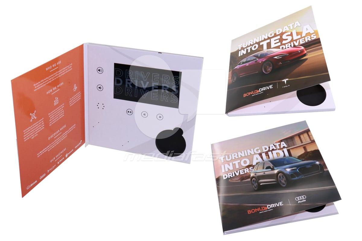 "Bonus Drive Video Brochure 9.93 x 10 - Screen: 7"""