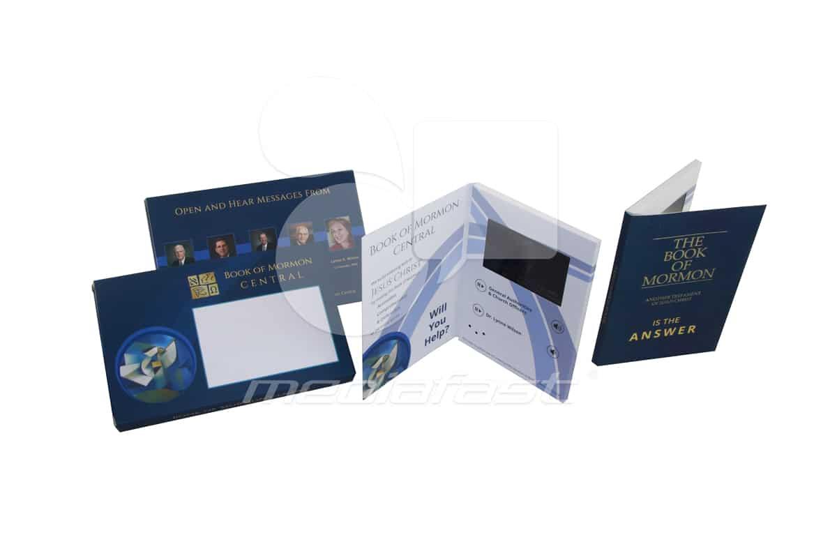 "The Book of Mormons - Mailer Video Brochure 5 x 7 - Screen: 4"""