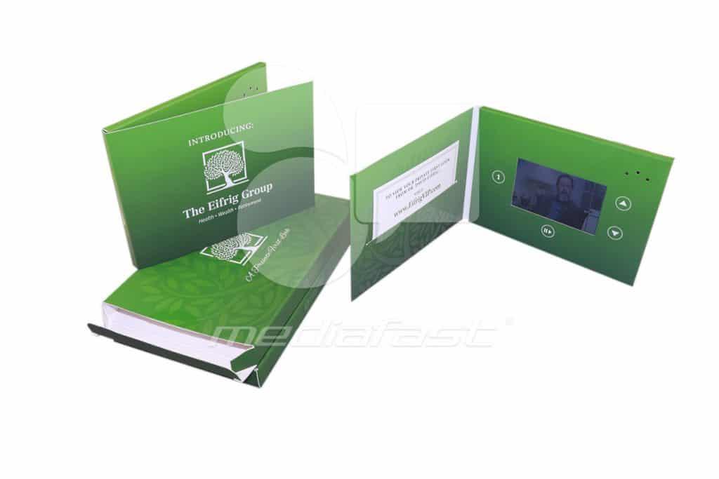 "The Eifrig Group Mailer Brochure 5 x 7 - Screen: 4"" Video"