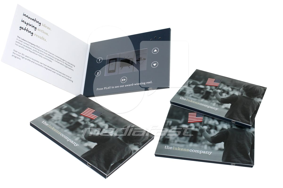 "The Lukens Video Brochure 5 x 7 - Screen: 4"""
