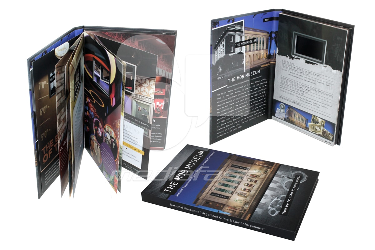 """The MOB - With Booklet Brochure 5 x 7 - Screen: 4"""""""