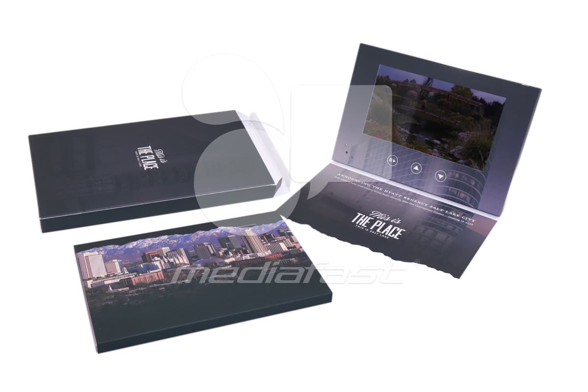 """The Place - With Mailing Box Brochure 8.5 x 5.75 - Screen: 7"""""""