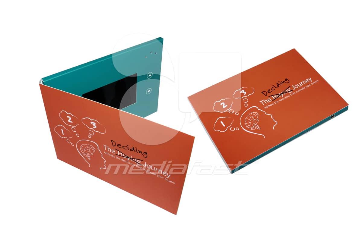 "The deciding Journey Video Brochure 5 x 7 - Screen: 4"""