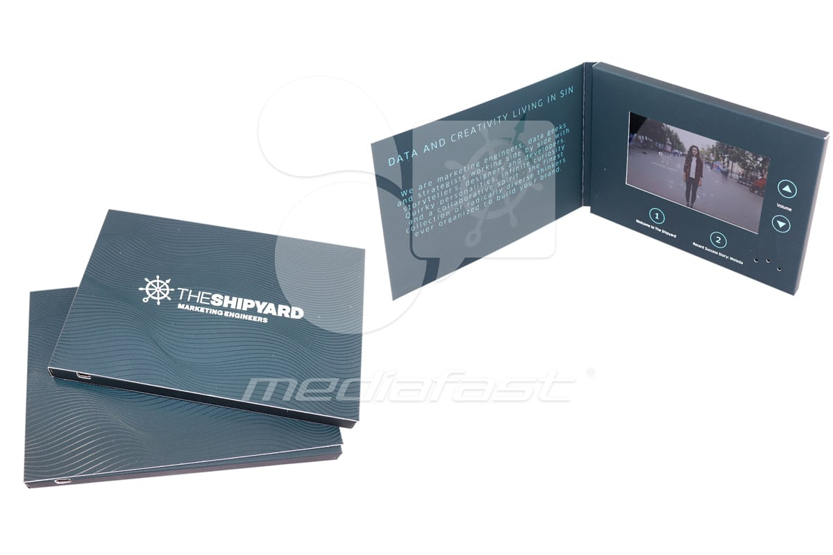 "The shipyard Video Brochure 5 x 7 - Screen: 5"""