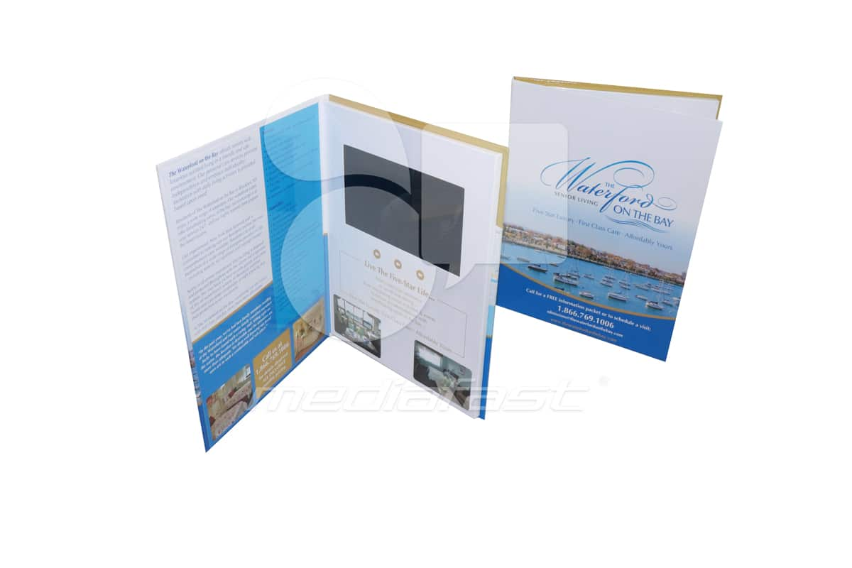 """The waterford of the Bay Video Brochure 8 5/8 x11 - Screen: 7 """""""