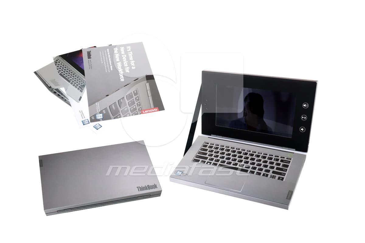 "Think Book- Ipad Style Brochure: 5.25 x 8.5 - Screen: 7"""