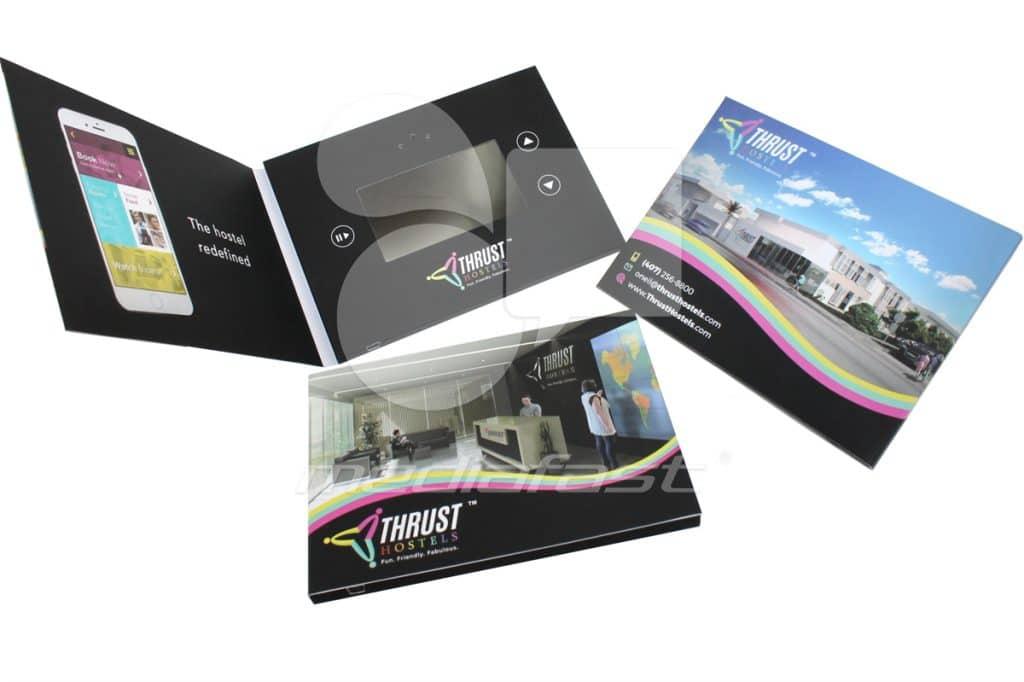 """Thrust Hostels Video Brochure 5 x 7 - Screen: 4"""""""