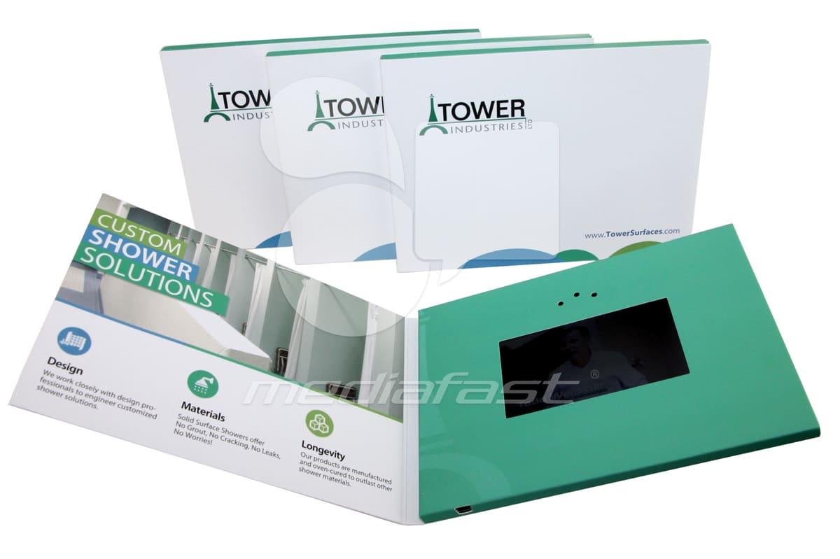 "Tower Industries Video Brochure 5 x 7 - Screen: 4"""