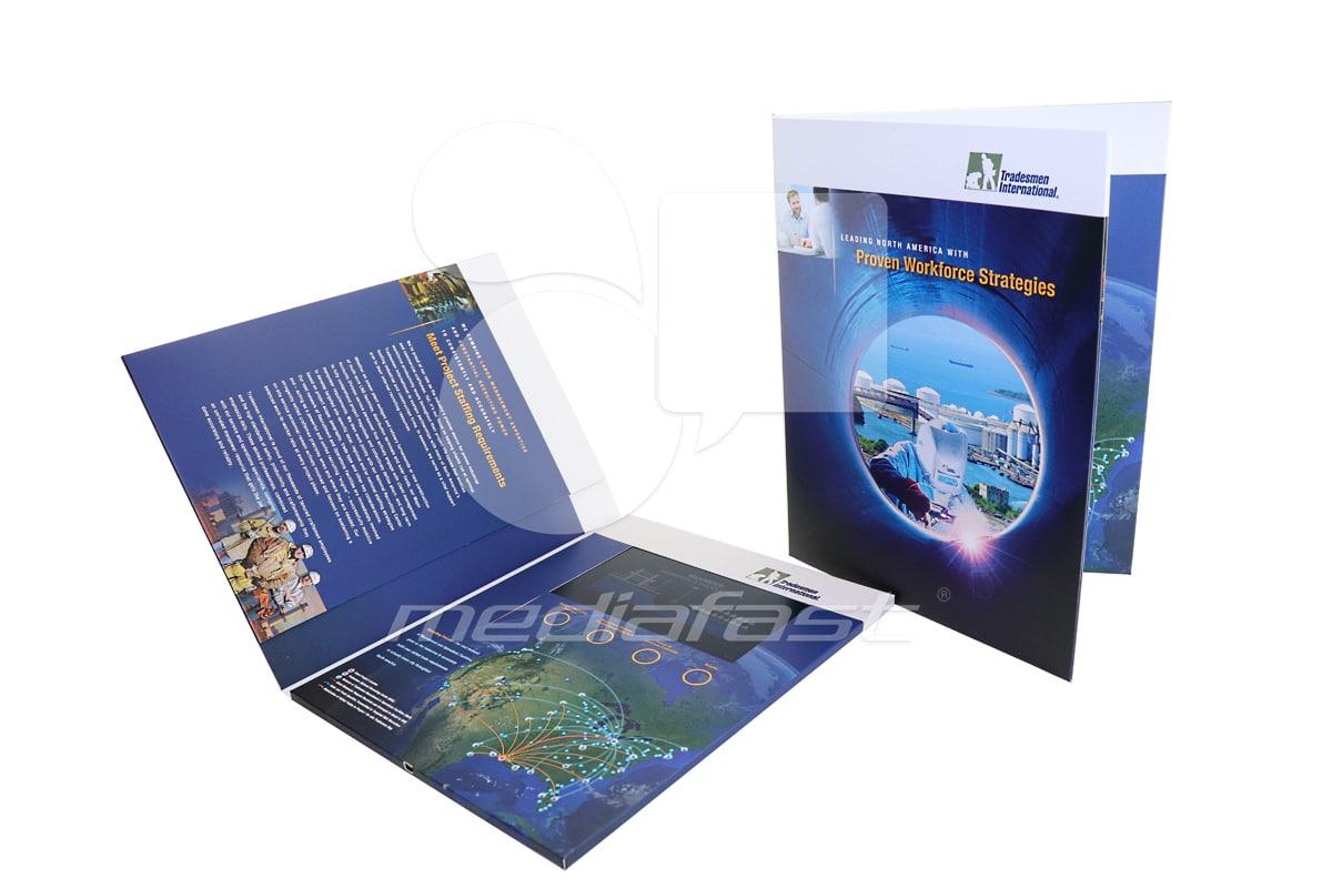 "Tradesmen International Video Brochure 9 x 12 - Screen: 4"""