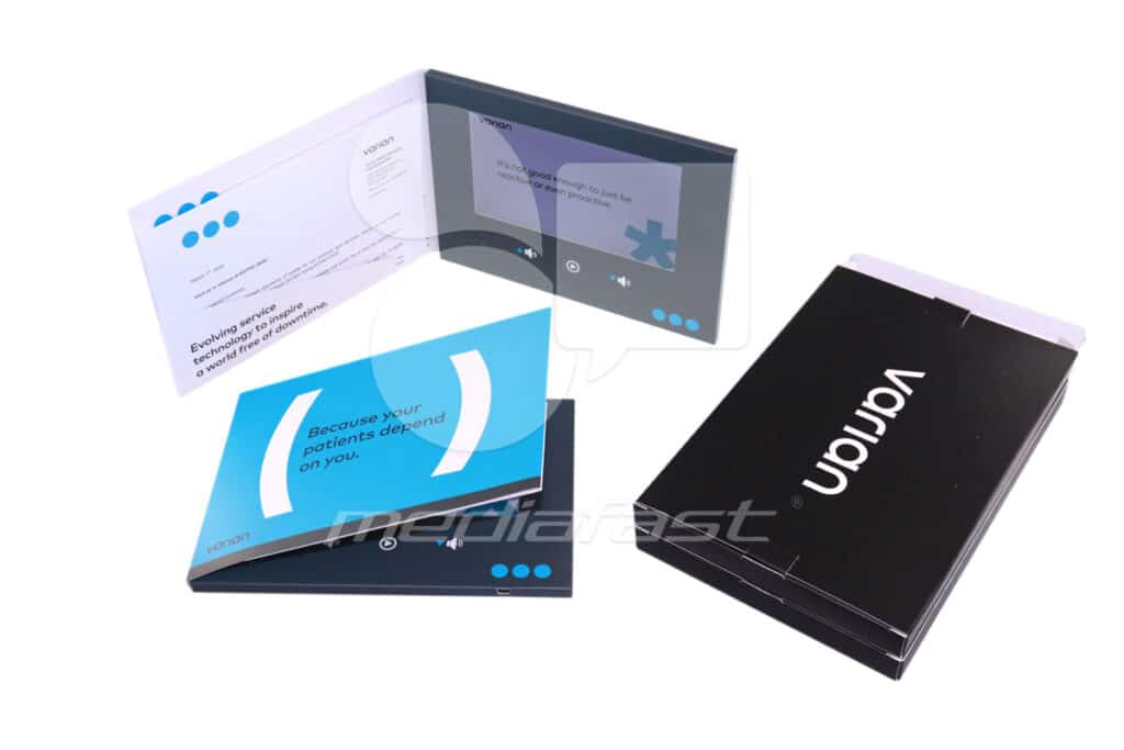 "Varian Video Brochure: 6.25 x 8.6 - Screen: 7"""