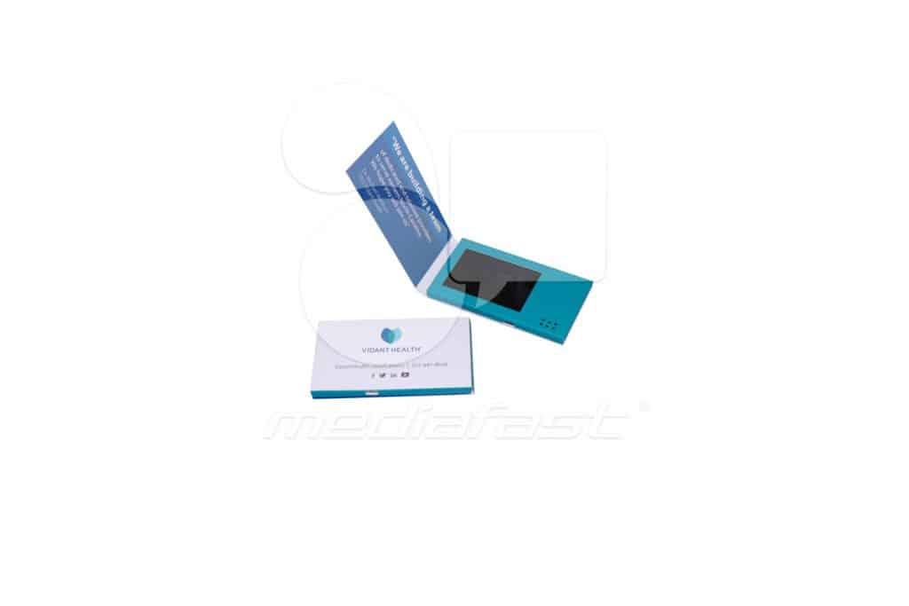 "Vidant Health Business Card Video Brochure 2.37 x 5.62 - Screen: 4"""
