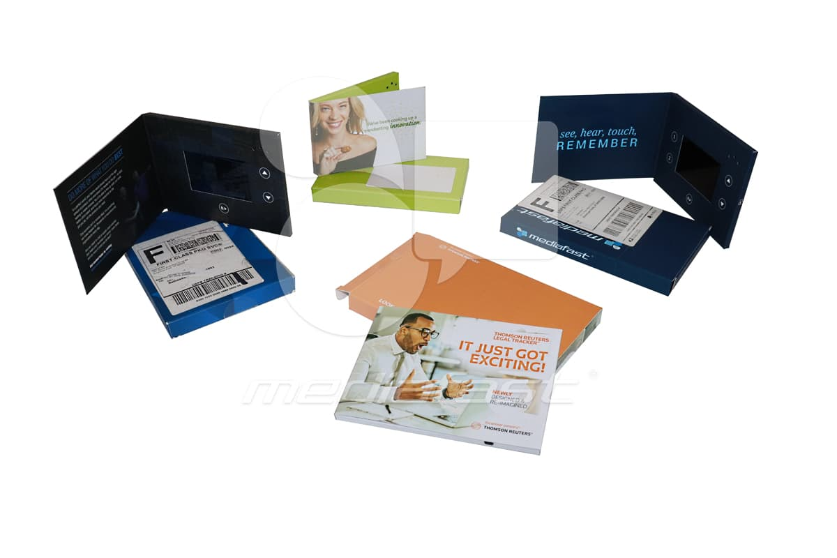 "Video brochures and Mailers Brochure 5 x 7 - Screen: 4"""