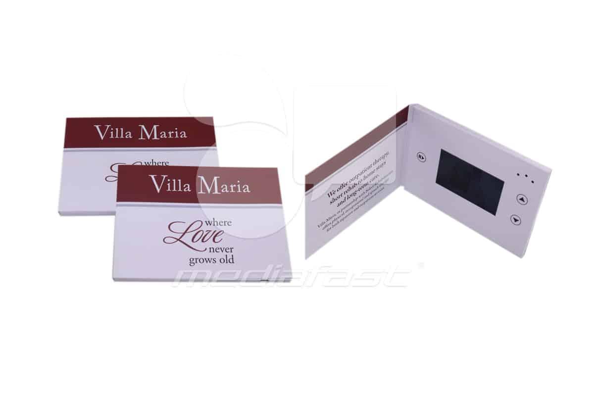 """Villa Maria Video Brochure 5 x 7 - Screen: 4"""""""