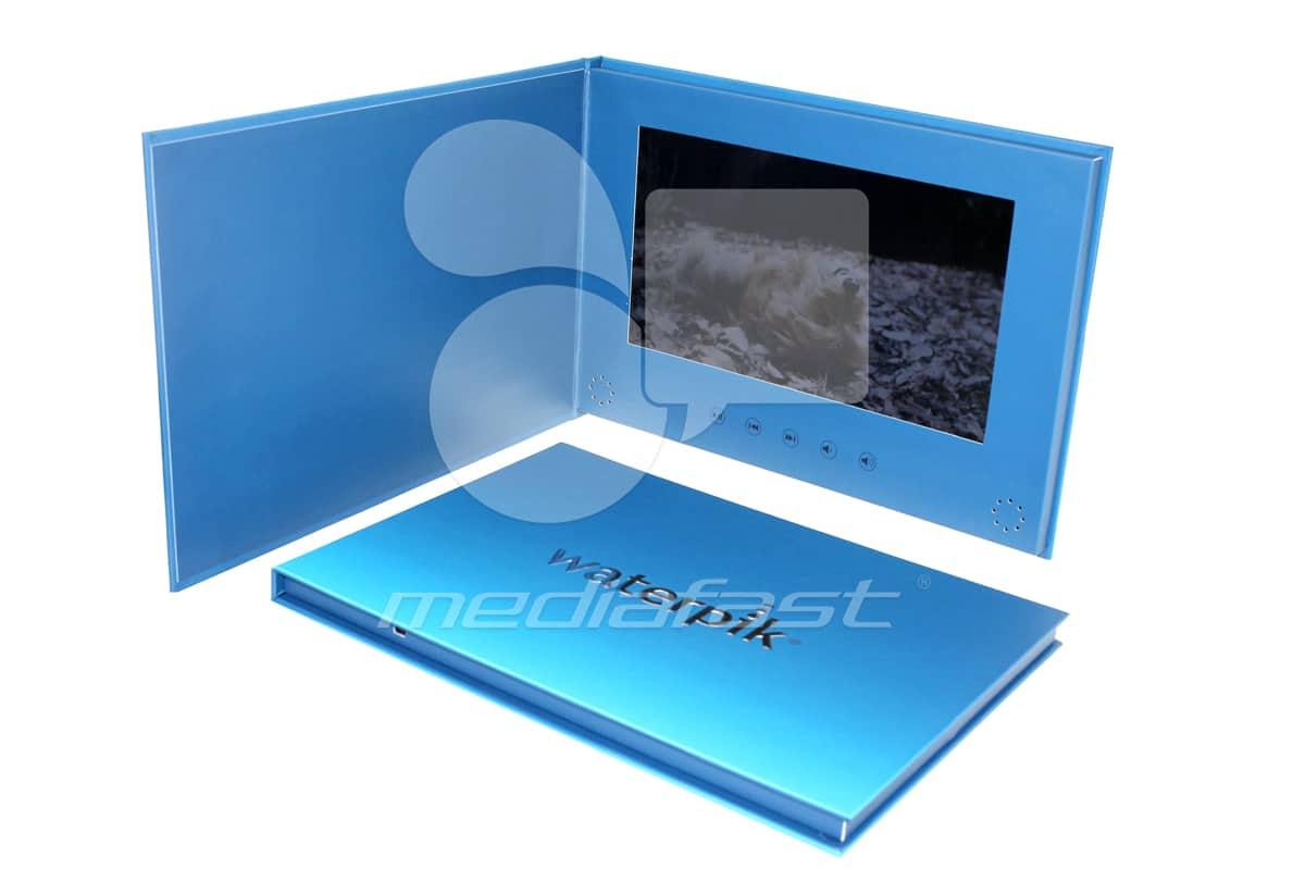 "Waterpik - Hard CoverBrochure 8.27 x 11.69 - Screen: 10"""