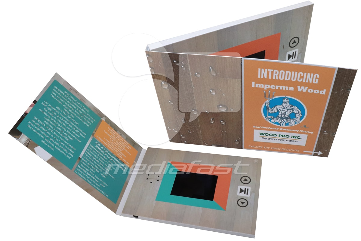 "Wood Pro Inc Video Brochure 5 x 7 - Screen: 3"""