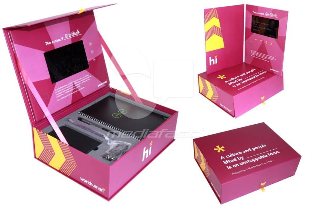 "Workhuman Video Box 10 x 13 x 4 - Screen: 7"""