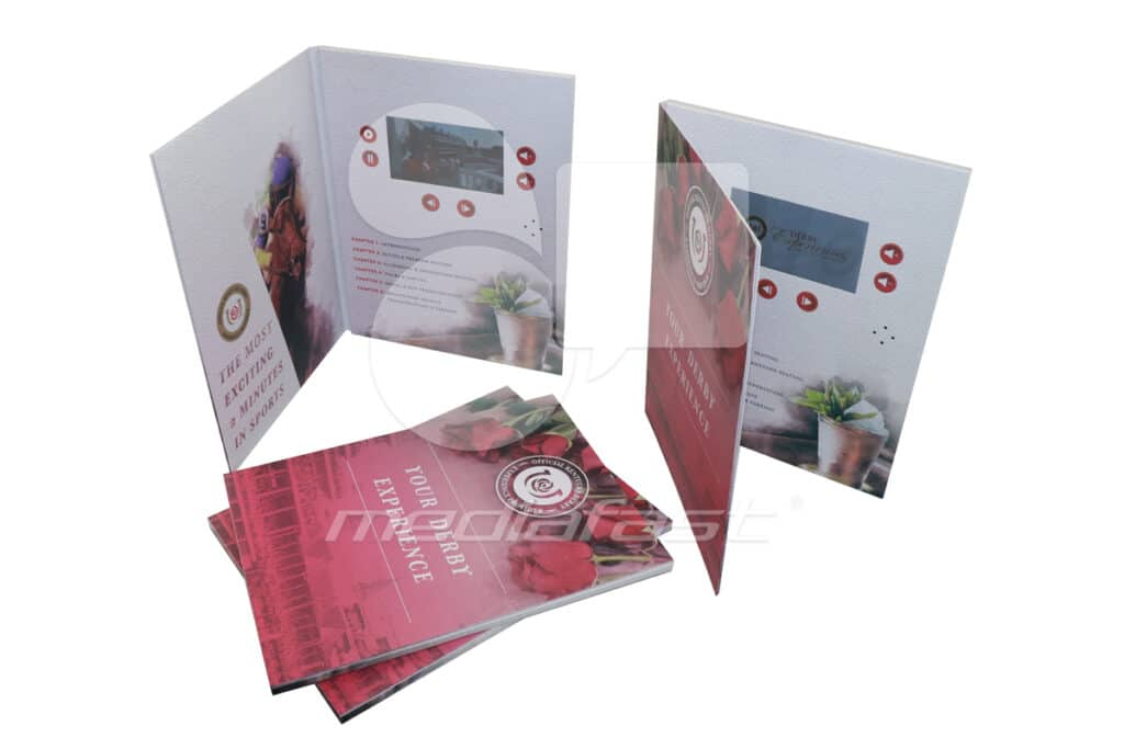"""Your Derby Experience Video Brochure 9 X 12. Screen:5"""""""