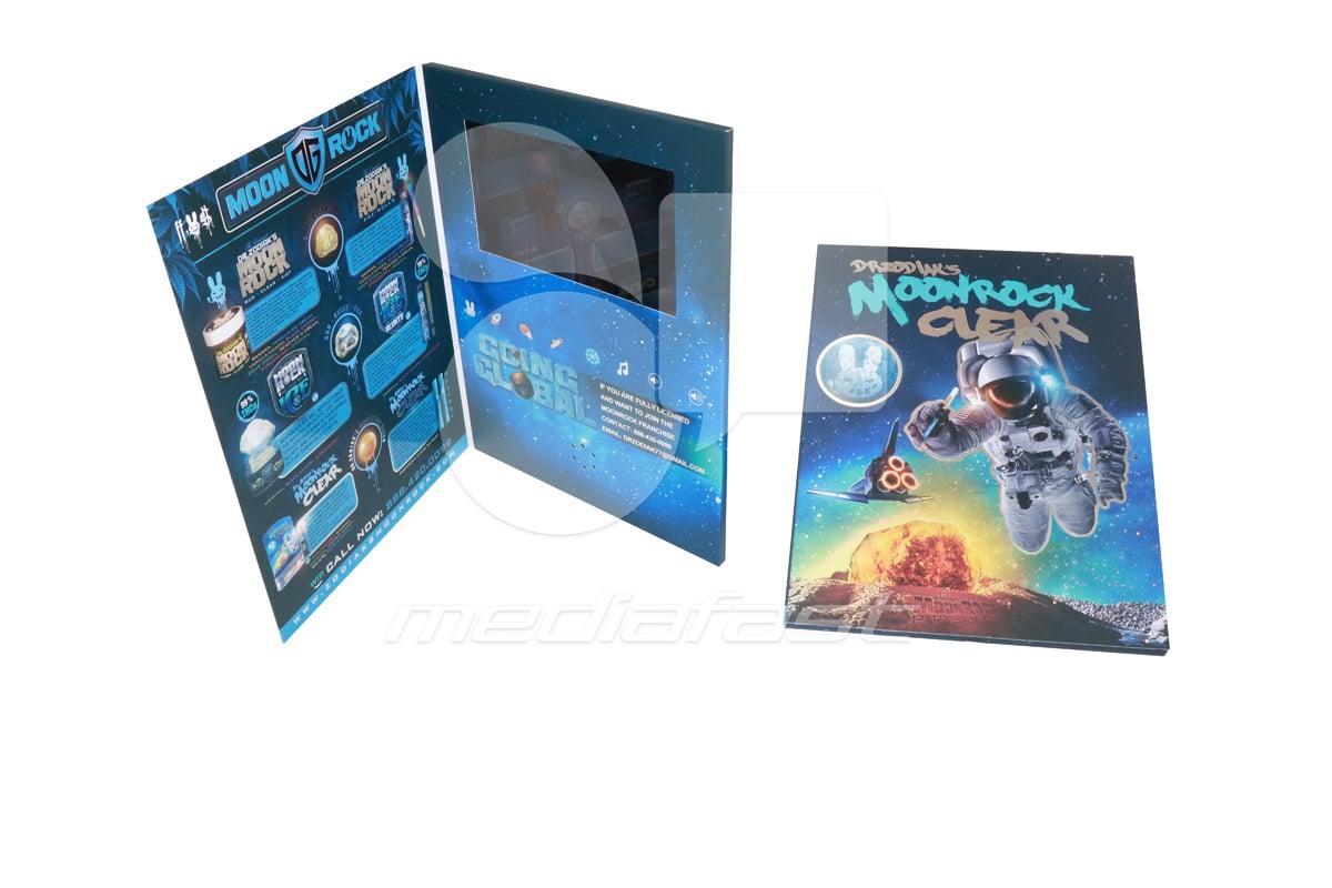 """Zodiaks Moon Rock Video Brochure 9 X 12. Screen:7"""""""