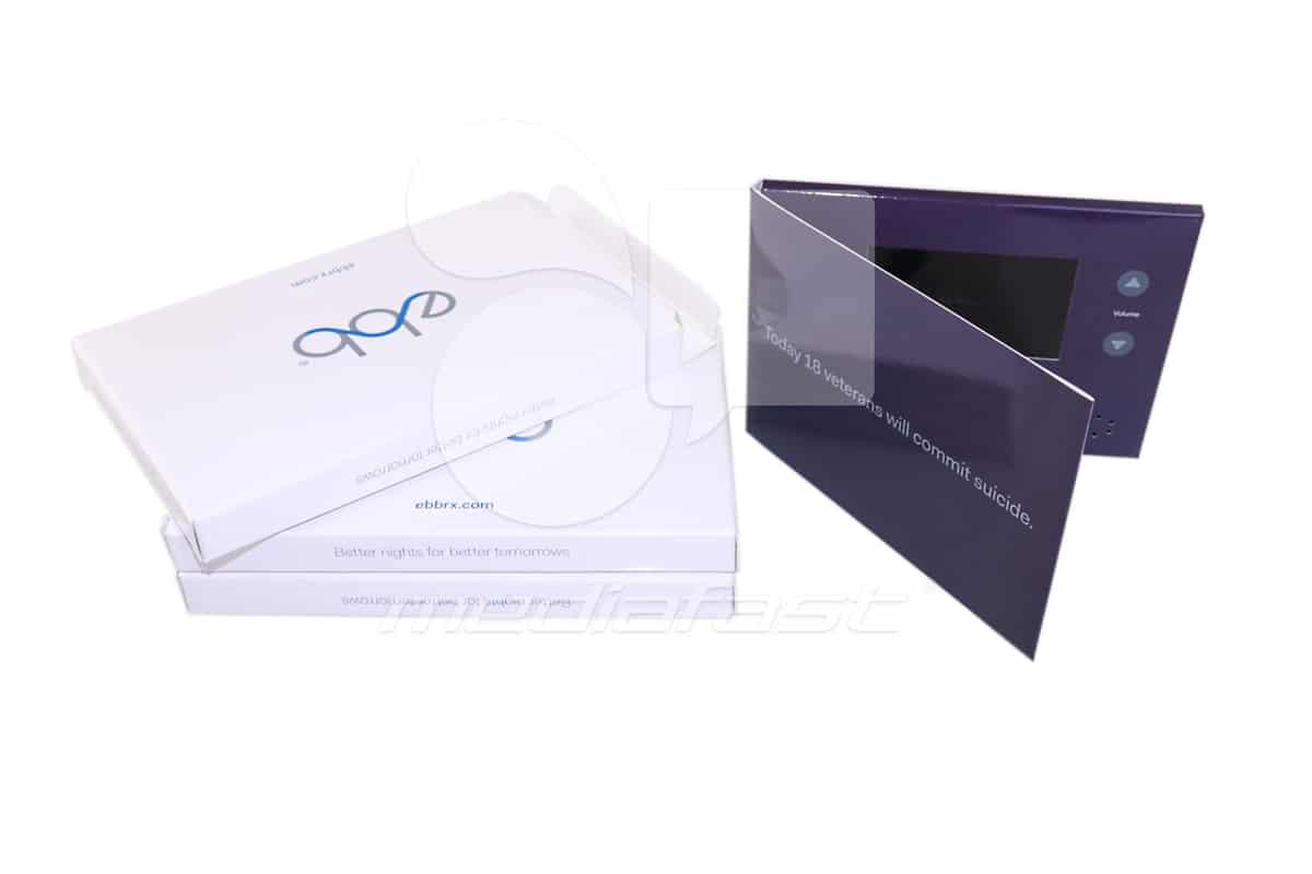 "ebb Video Brochure 5 X 7- Screen:4"""