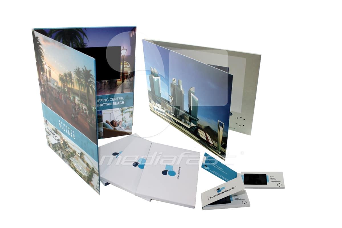 "Village Video Brochure 9 X 12. Screen: 7"""