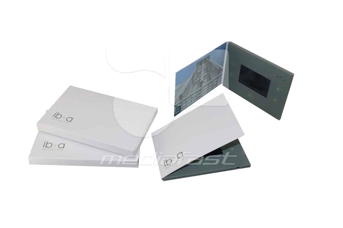"ib+ a Architecture Video Brochure 5 X 7. Screen:4"""