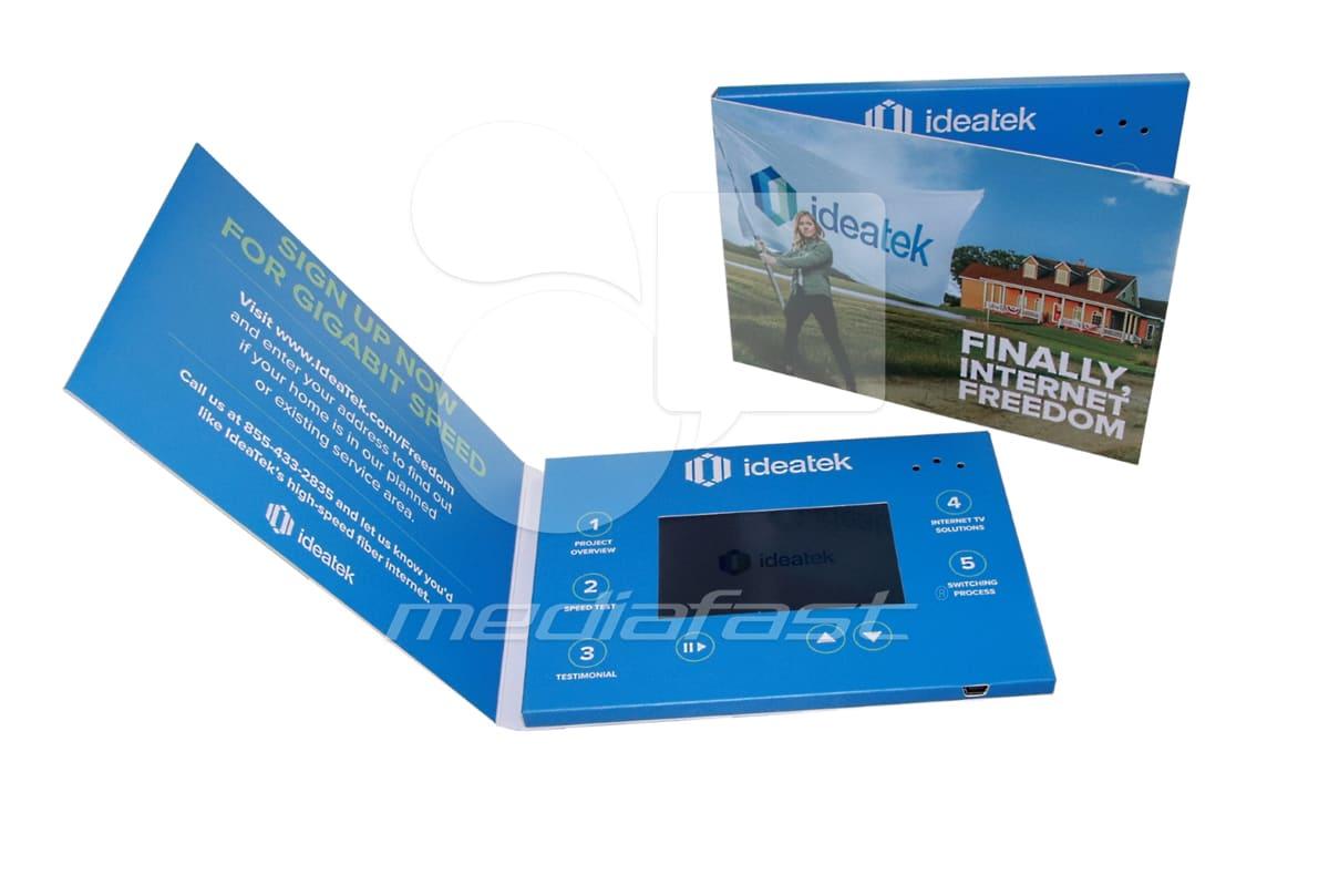 "ideatek Video Brochure 5 X 7: Screen: 4"""