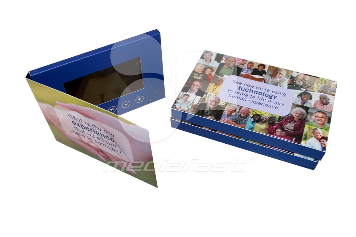 """technology Video Brochure 5 x 7 - Screen: 4"""""""