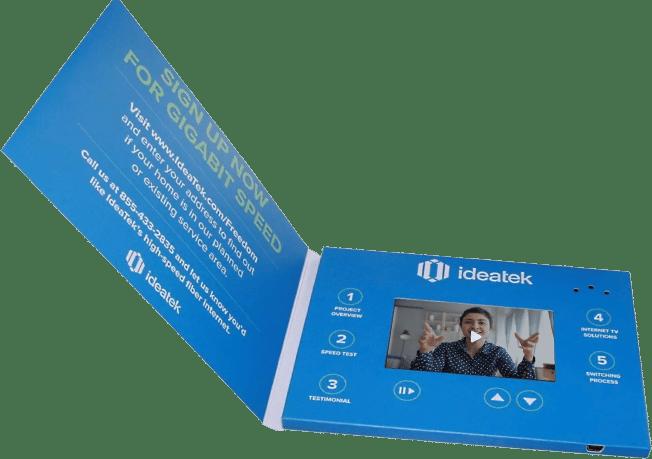Video brochure by MediaFast