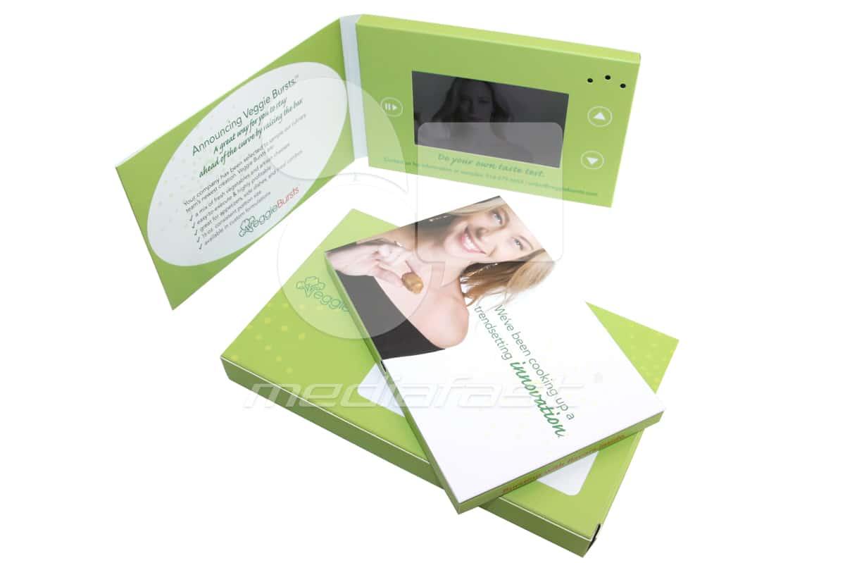"veggie Video Brochure 5 x 7 - Screen: 4"""
